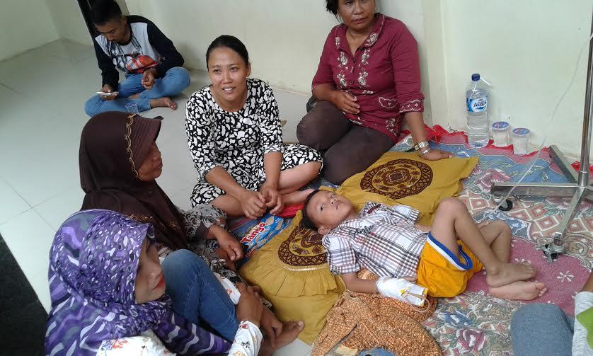 Pasien DBD di Lampung Selatan | Heri/jejamo.com