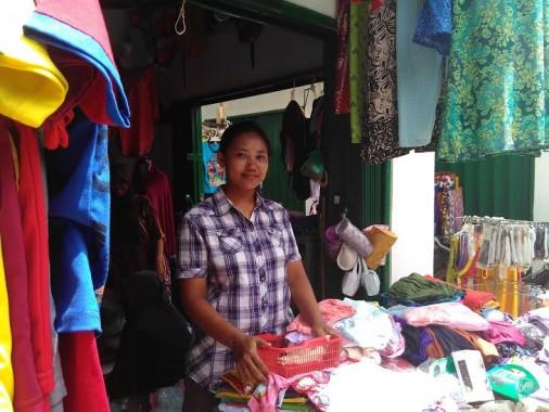 Pasar Baru Pekalongan Lamtim Mulai Ramai Dikunjungi Warga