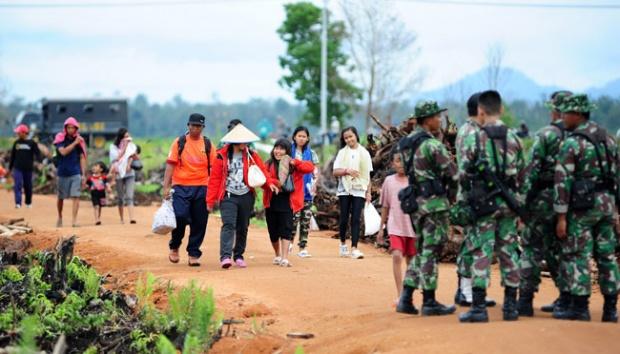 Mayat Bayi Ditemukan Mengapung di Sungai Bulok Gadingrejo Pringsewu