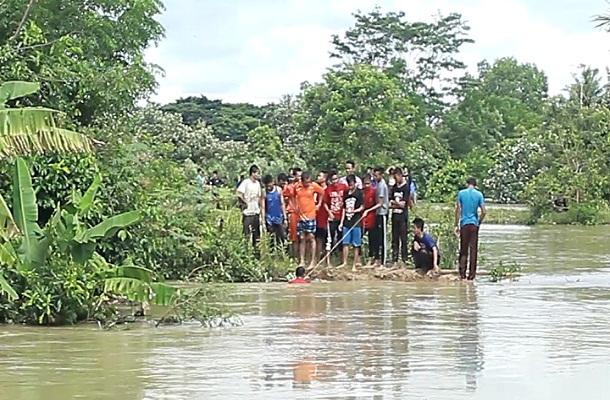 Santri Penghafal Quran Ponpes Metro Tenggelam di Sungai