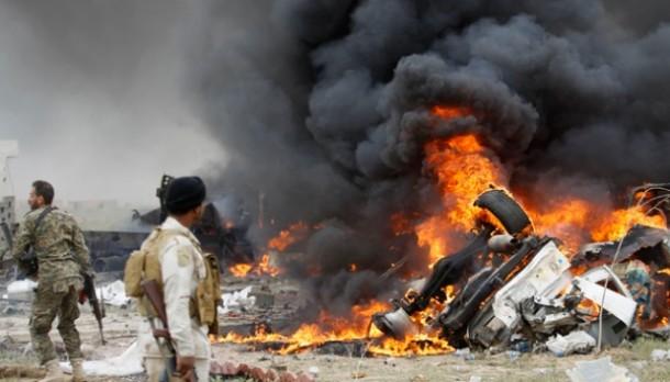 Serangan Udara Amerika Hancurkan Fasilitas Radio ISIS dan Tewaskan 29 Orang