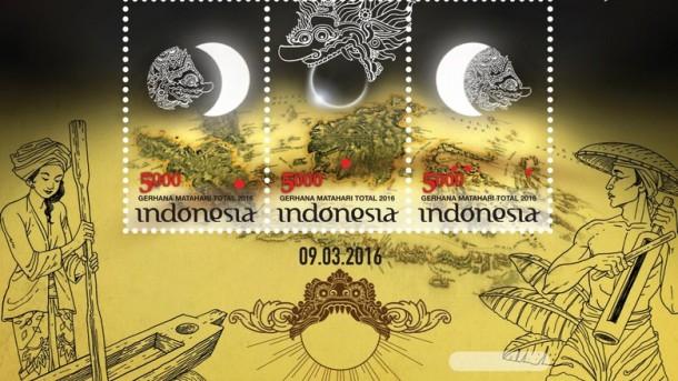 PT Pos Indoneisa Akan Luncurkan Perangko Edisi Gerhana 2016