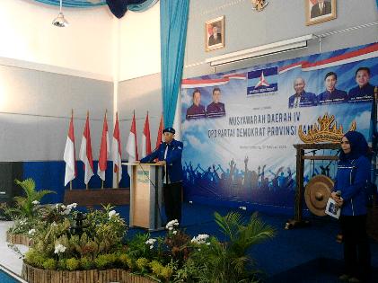 Ridho Ficardo Nyatakan Telah Membuat Demokrat Disegani di Lampung