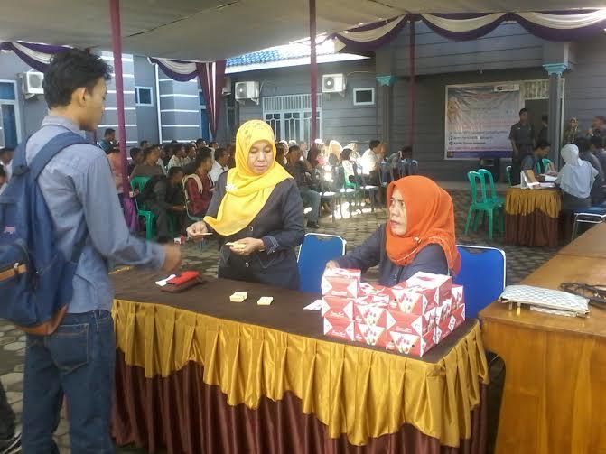 Badan Pusat Statistik (BPS) Lampung Utara adakan seleksi terhadap 1.434 orang calon Petugas Sensus Ekonomi 2016 | Mukaddam/jejamo.com