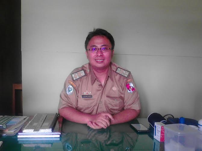 Kepala Puskesmas Negara Ratu dr Rachmad Wahyu Hidayat | Rengki/jejamo.com