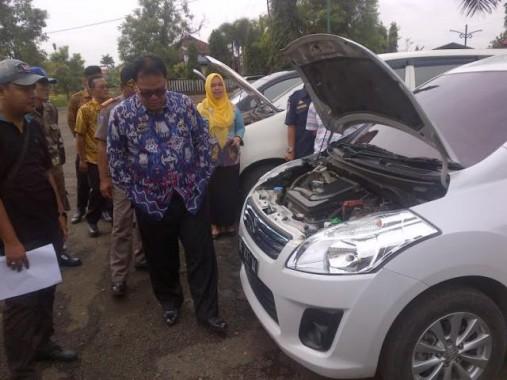 Randis Pemkab Lampung Utara Dicek, Tak Laik Pakai Akan Dilelang