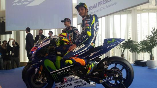 Rossi Putuskan Pakai Motor Musim 2015 untuk MotoGP 2016