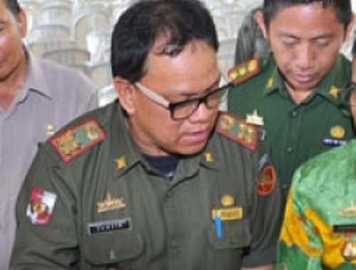 Sekretaris Daerah (Sekda) Lampung Utara Samsir | ist