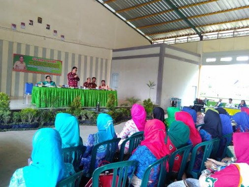 Sekda Lampung Utara Temui Guru Se-Kecamatan Kotabumi