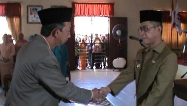 Pelantikan Sekda Mesuji | Fathur/jejamo.com