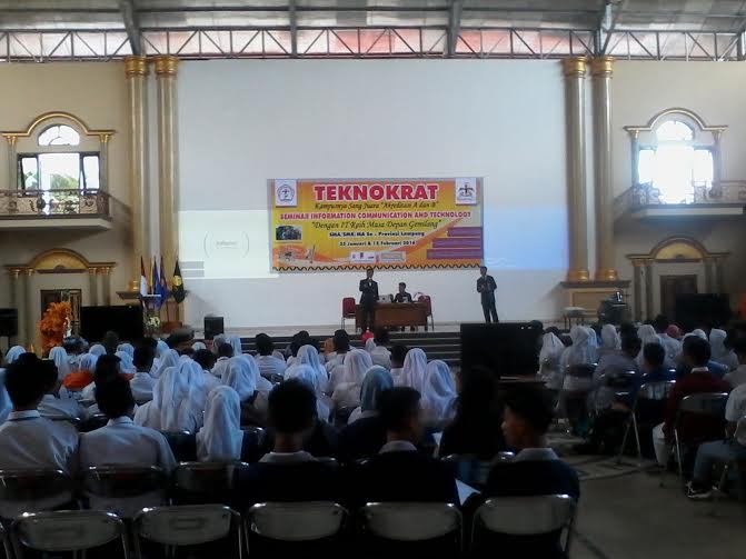 Teknokrat Gelar Seminar ICT bagi Siswa Tingkat SMA se-Lampung