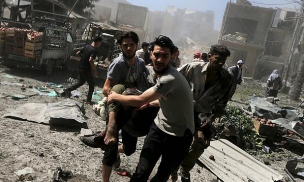 Bom ISIS di Damaskus Serang Makam Putri Ali Bin Abi Thalib