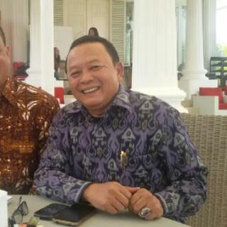Kadiskominfo Lampung Sumarju Saeni. | Widyaningrum/Jejamo.com