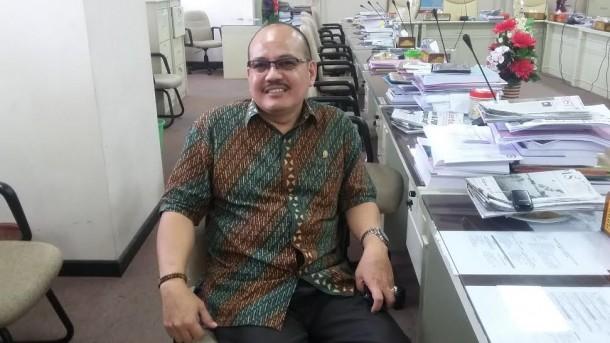 Kepala Bidang Hukum dan Keamanan DPD PDI-P Lampung, Watoni Noerdin | Tama/jejamo.com