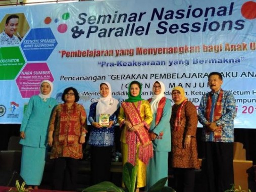 Ribuan Guru PAUD Hadiri Seminar Nasional dan Parallel Sessions