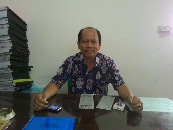 Kabid Pembangunan Pekon dan kelurahan BPMPP Kabupaten Pringsewu, Ahmad Satria. | Nur Kholik/Jejamo.com