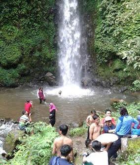 Wisata air terjun di kecamatan Sumberejo Tanggamus. | Adrian Arlambang/Jejamo.com