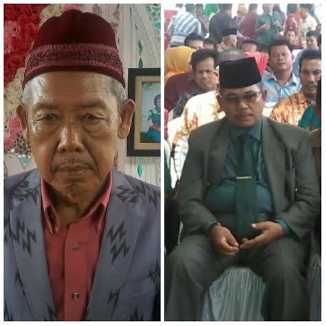 Laung Anni Wali, tokoh masyarakat Lampung Utara (kiri). | Mukoddam/Jejamo.com
