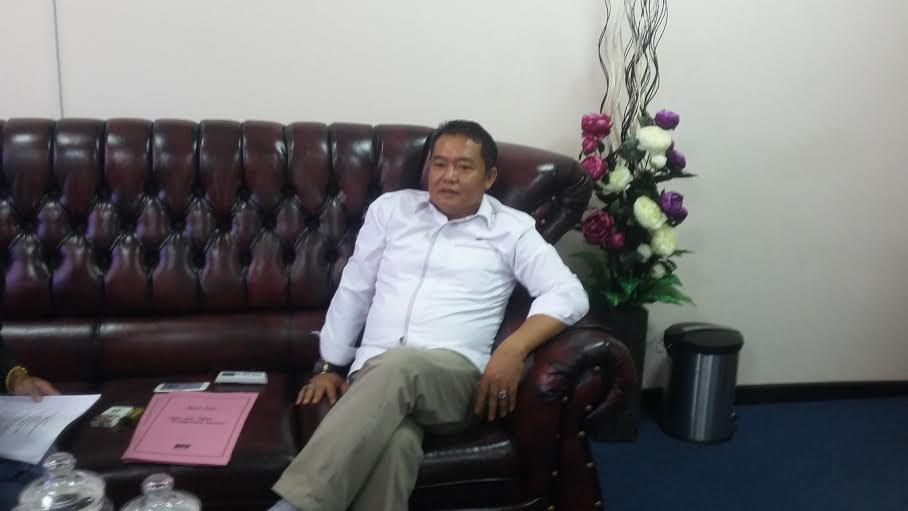 Bambang Suryadi, Wakil Ketua Bidang Kaderisasi DPD PDI P Lampung. | Arif Wiryatama/Jejamo.com