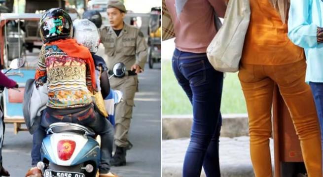 Pakai Celana Ketat, Puluhan Wanita di Aceh Terjaring Razia