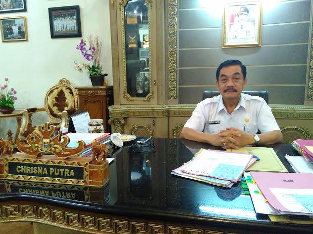 Pj. Walikota Metro A. Chrisna Putra. | Wahyu/Jejamo.com