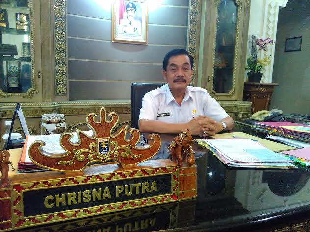 Pj. Wali Kota Metro, A. Chrisna Putra. | Wahyu/Jejamo.com