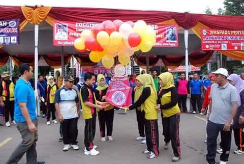 Sempat Dikecam, Color Run Party Kobum Lampung Utara Berlangsung Meriah