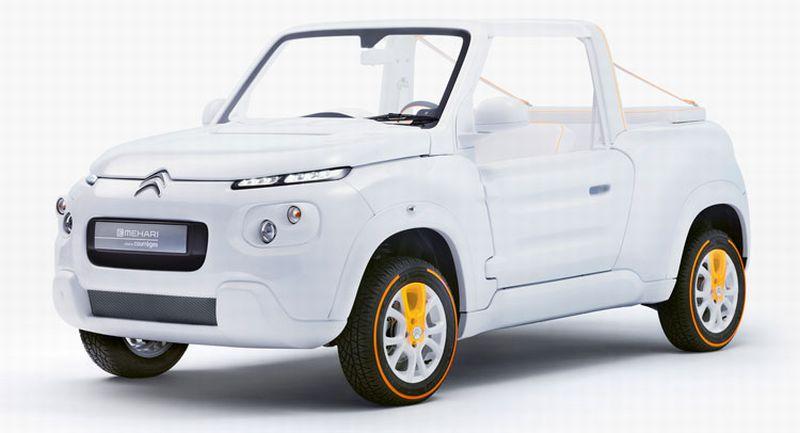 Perkenalkan, E-Mahari Mobil Listrik Serba Putih