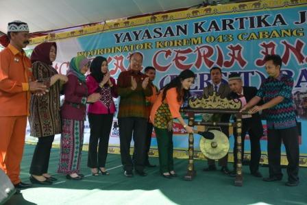 Gebyar Ceria Anak Indonesia 2016 Dipusatkan di Bandar Lampung