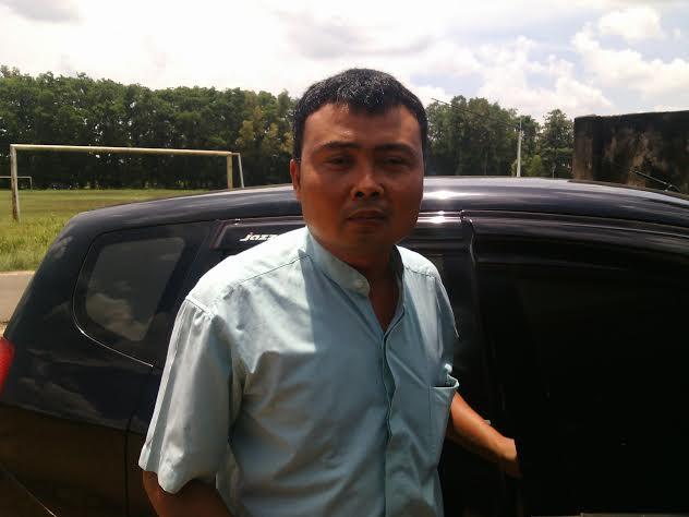 Ketua Gerakan Cinta Lampung Timur, Genta Fauzi. | Parman/Jejamo.com
