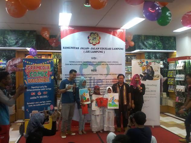 Komunitas Jalan Jalan Edukasi (JJE) Lampung. | Artha Kurnia Alam/Jejamo.com