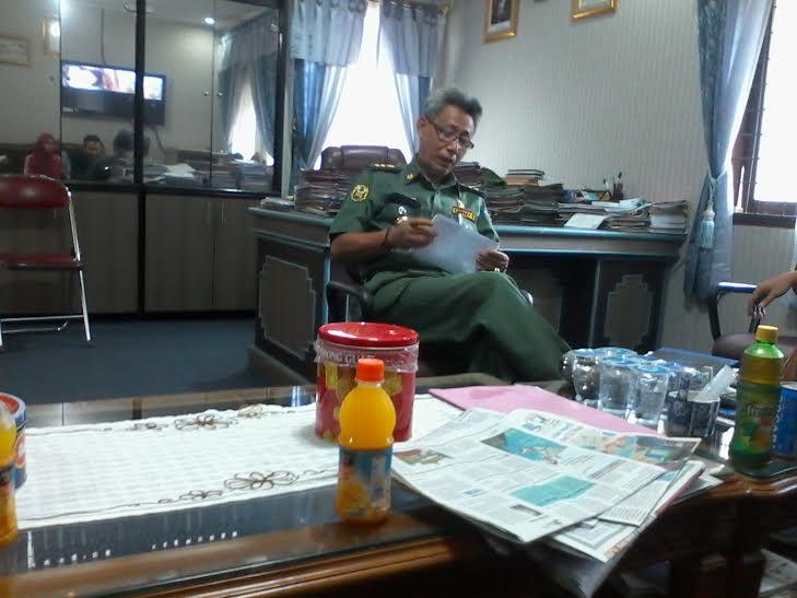 Kepala Badan Pengelolaan Keuangan dan Aset Daerah (BPKAD) Bandar Lampung Trisno | Sigit/jejamo.com