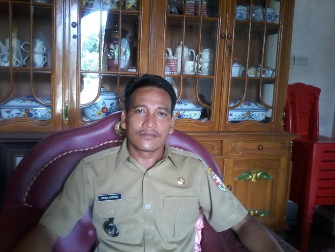 Kepalo Tiyuh Kataraharja, Rudiyanto. | Buhairi/Jejamo.com
