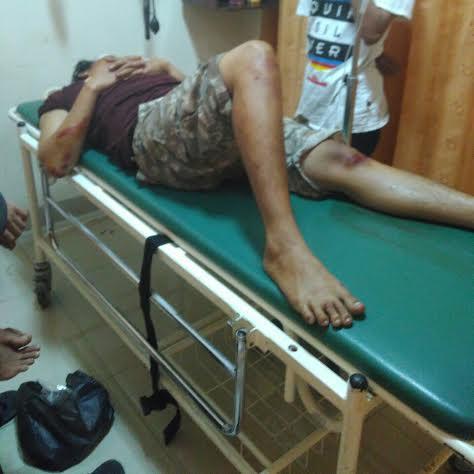 Korban Penusukan di Tanjungkarang Timur Bandar Lampung Dirawat di RSUDAM