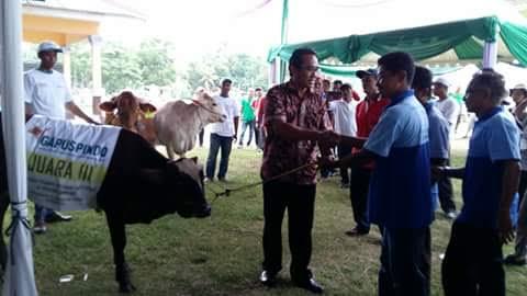 Camat Muara Sungkai Lampung Utara Setuju Embung Dibangun