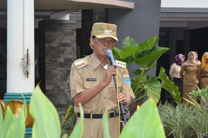 Wali Kota Metro, Achmad Pairin. | Tyas Pambudi/Jejamo.com