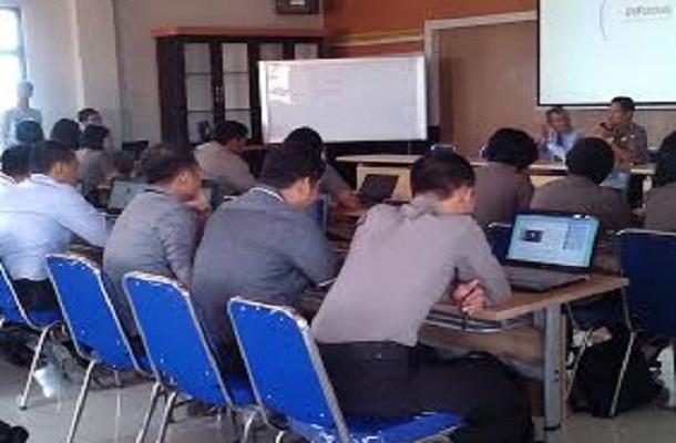 Herman HN Terima Kunjungan Diklat PNS Kabupaten Subang