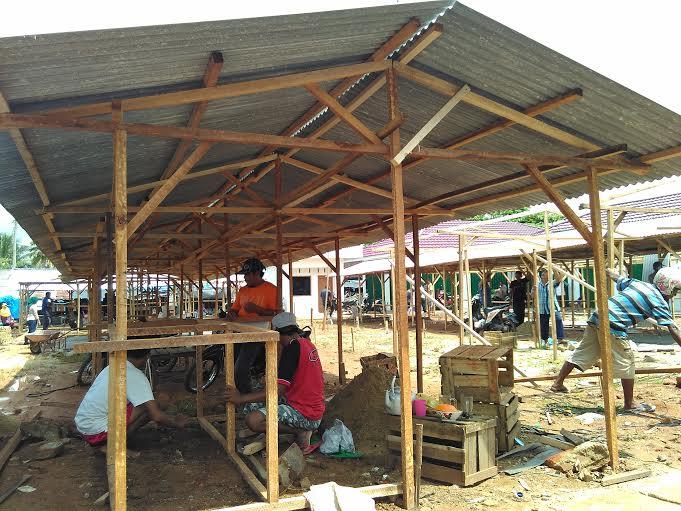 Pasca Serah Terima, Pedagang Segera Pindah ke Pasar Pekalongan Lampung Timur