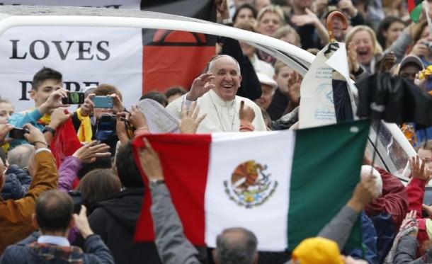 Ketika Paus Fransiskus Kehilangan Kesabaran di Meksiko