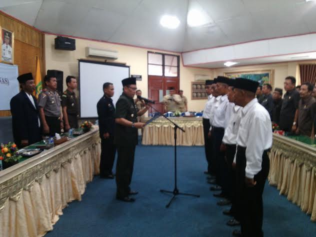 Pj. Bupati Kukuhkan Pengurus Baznas Lampung Timur