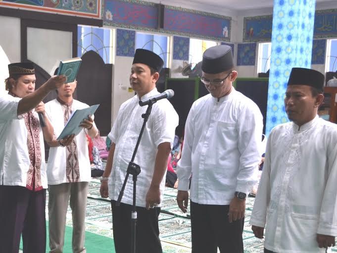 Pelantikan Wakil Rektor IBI Darmajaya Bernuansa Islami