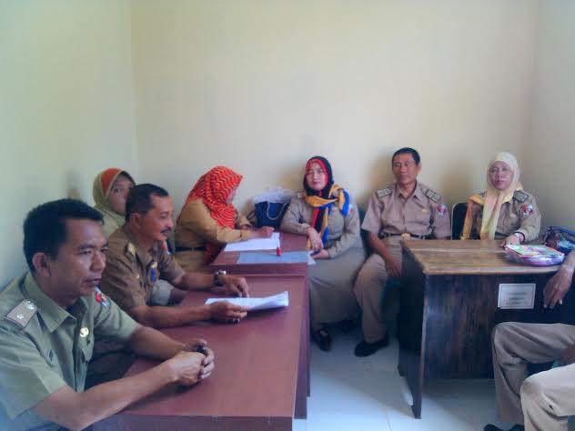 Aksi Para Jurnalis Lampung Menyambut Kedatangan Presiden Jokowi