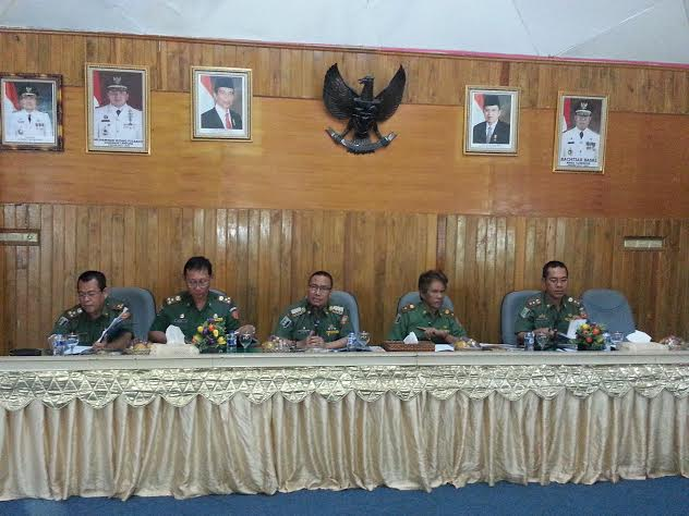 Rapat Sertijab bupati terpilih Lampung Timur, Senin, 15/2/2016. | Parman/Jejamo.com