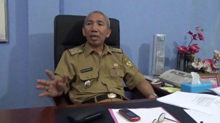 Kadisnaker Kota Bandar Lampung, Saad Asnawi. | Sigit Sopandi/Jejamo.com