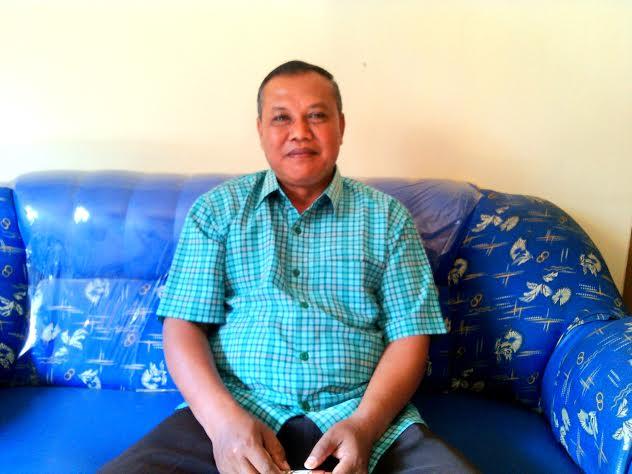 Kepala SMPN 3 Tulangbawang Udik, Suratno. | Rengki/Jejamo.com
