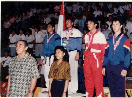 Amril Yusam Legenda Taekwondo Lampung