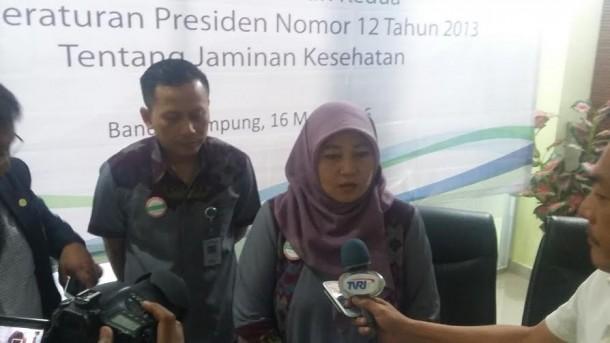 Iuran Naik, BPJS Lampung Tak Tambah atau Kurangi Pelayanan Pasien