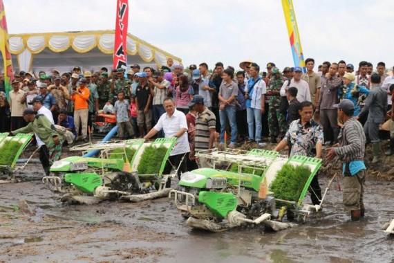 Wagub Lampung Sambut Positif Pencetakan Sawah Baru di Mesuji