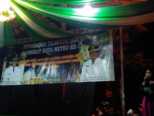 Sempat Hilang, Nama Pairin Akhirnya Nongol di Banner Panggung Penutupan MTQ