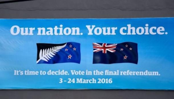 Rakyat Selandia Baru Adakan Referendum Ganti Bendera Negara